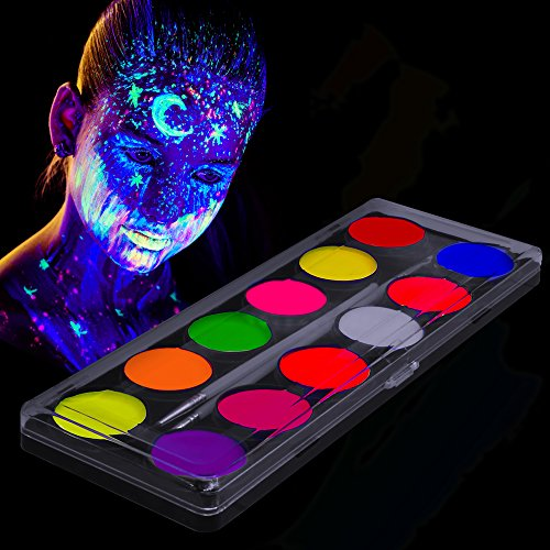 Fluorescent UV Body Paint