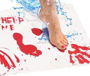 Bloodbath Color Changing Bath Mat
