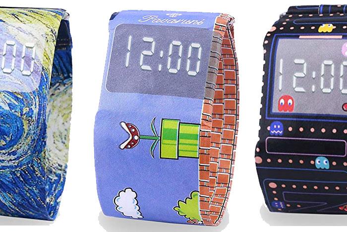 Digital Wrist Paper Watches