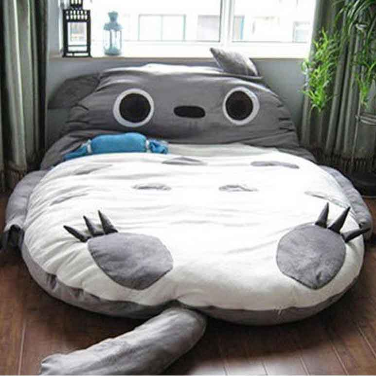 Giant Totoro Bed Plush Totoro Beds Bean Bags For Adults