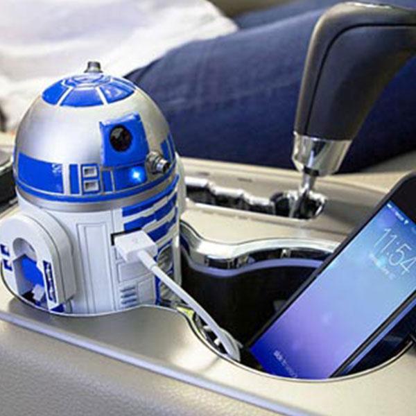 Star Wars R2 D2 Usb Car Charger