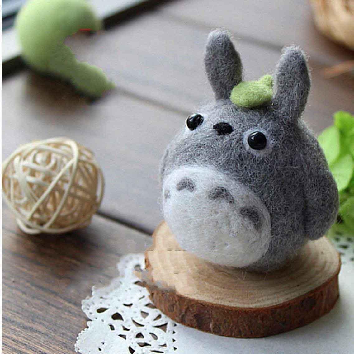 Totoro Needle Felting Kits Felt Totoro Giant Stitch