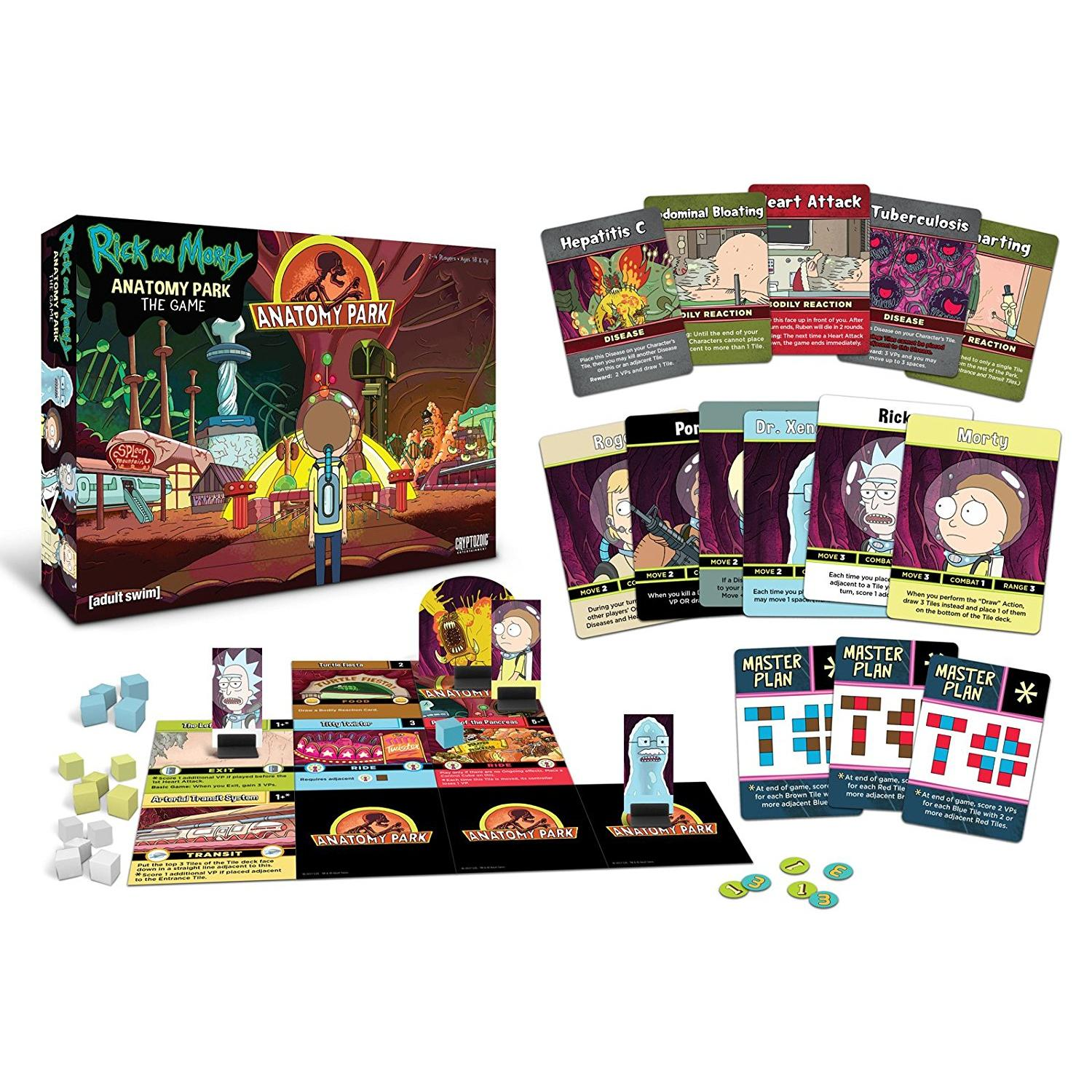 Rick And Morty Anatomy Park Game – Geeky Gift Ideas