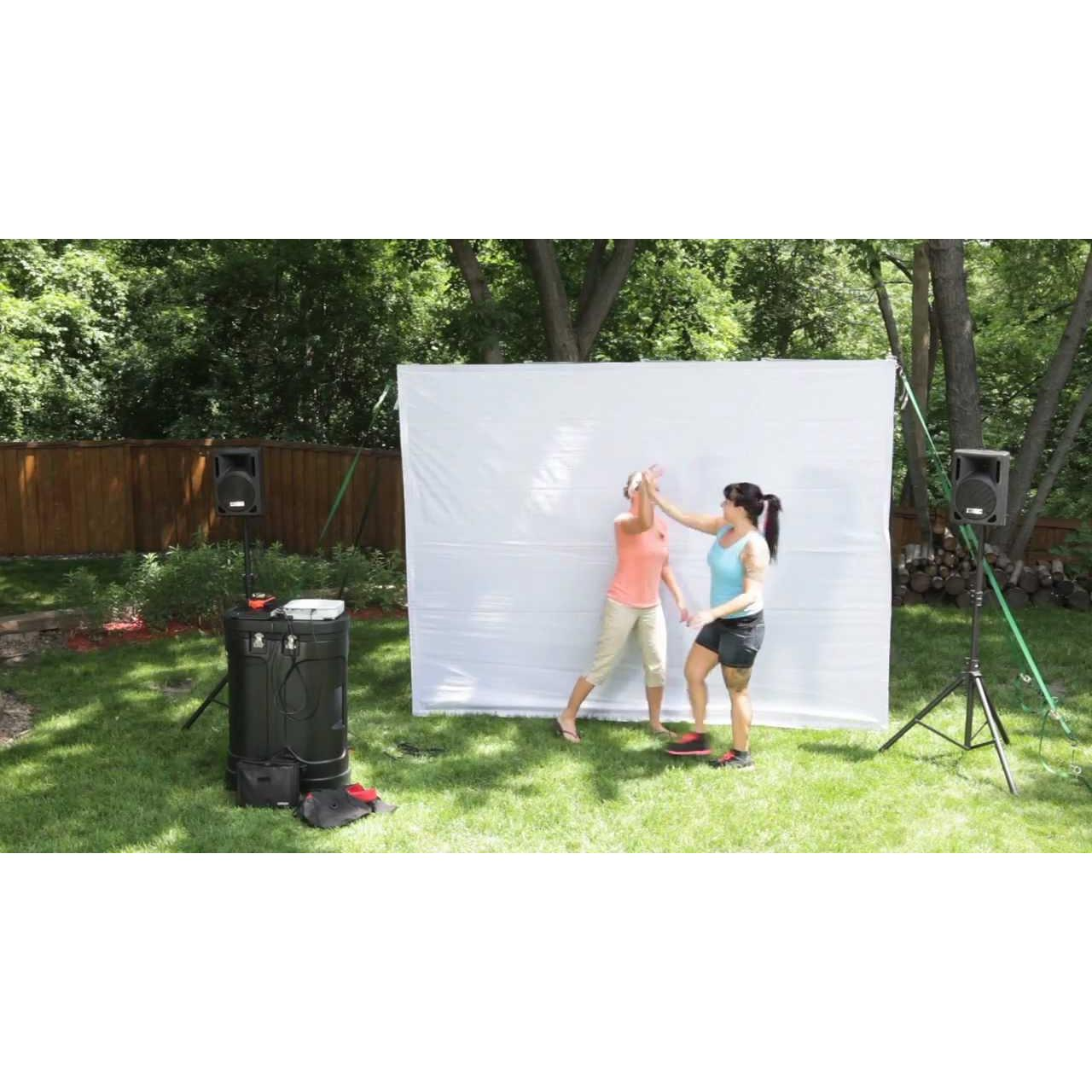 Backyard Theater Ideas backyard theater system - geeky gift ideas