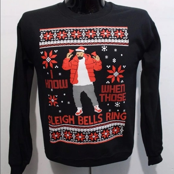 Hotline Bling Ugly Christmas Sweater - Geeky Gift Ideas