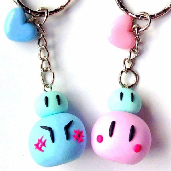 Clannad Dango Keychain