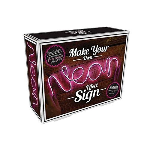 make your own neon sign geeky gift ideas