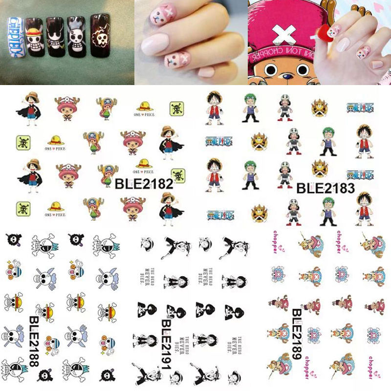 Anime Nail Decals - Geeky Gift Ideas
