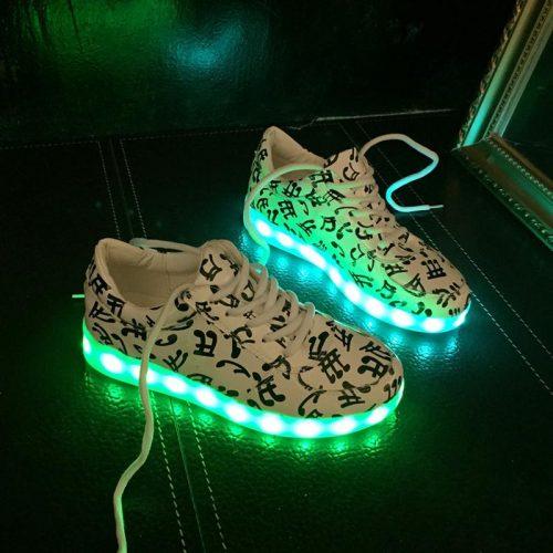8c1c3e39b7a7 Colorful Led Light Up Shoes