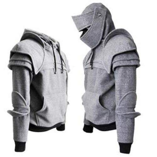 78bb2cf1 Armored Knight Hoodie