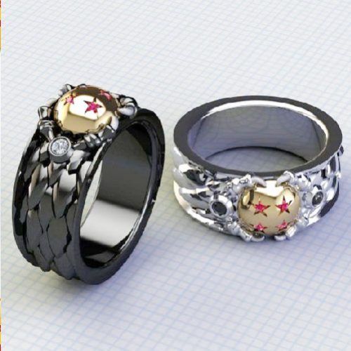 Dragon Ball Z Rings