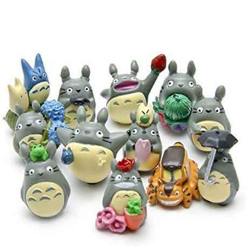 My Neighbor Totoro Terrarium Figurines Toy Miniature Micro Gnome