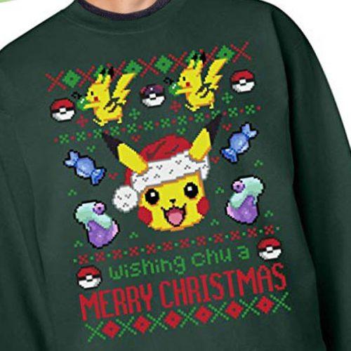 Pokemon Christmas Sweater.Pokemon Christmas Sweaters