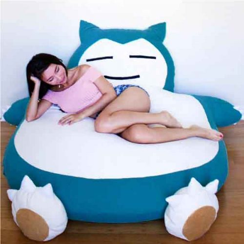 Astonishing Pokemon Snorlax Bean Bag Gmtry Best Dining Table And Chair Ideas Images Gmtryco