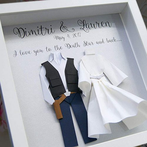 Star Wars Wedding Anniversary Gift 68a803d2d