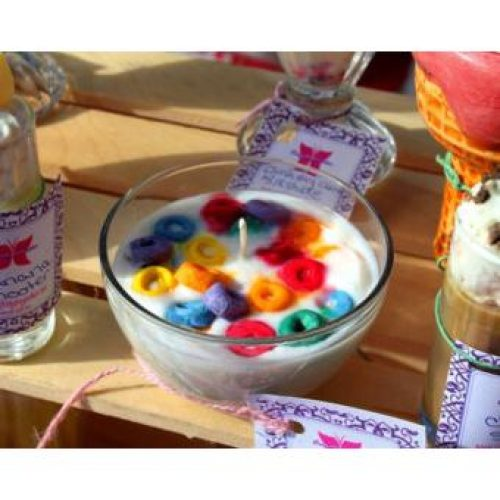 Froot Loop Scented Candle