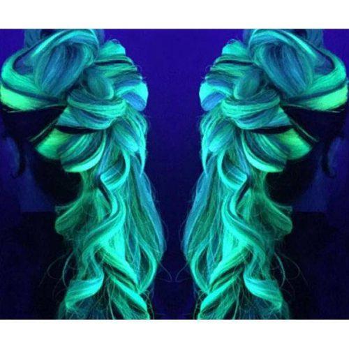 Glow In The Dark Hair Dye